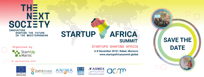 Start up Africa Summit 2018 logos