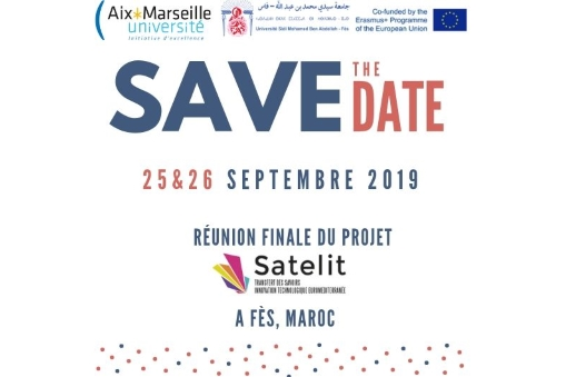 Save the date projet SATELIT