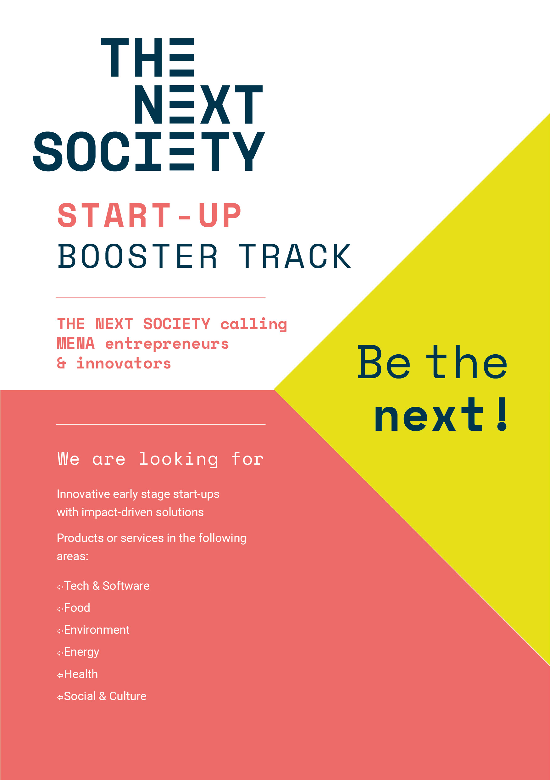Start-up Booster Track