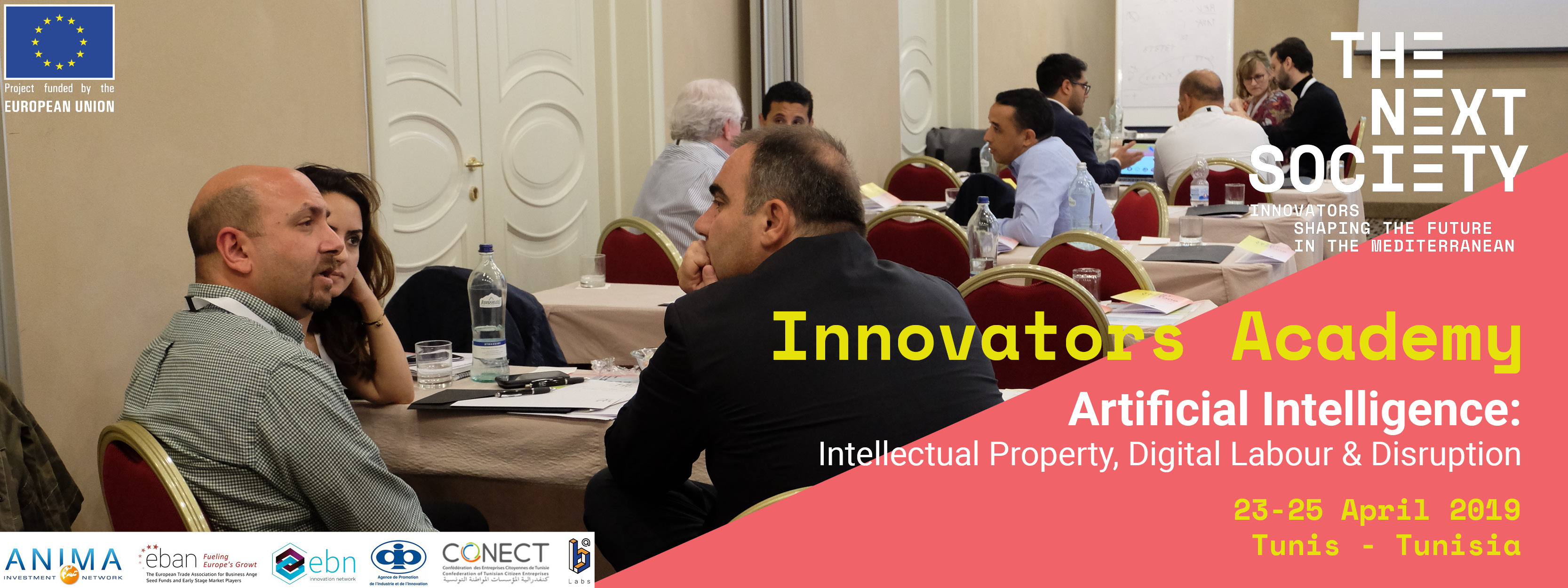 Innovators Academy in Tunis banner