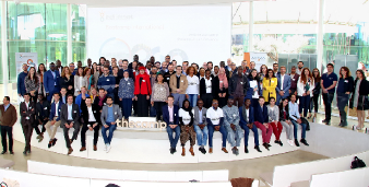 Group picture at the DiafrikInvest Bootcamp, TheCamp (Aix)