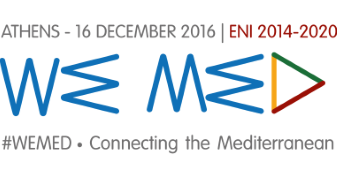 Event logo of #WEMED - Connecting the Mediterranean