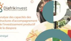 Capacities of structures supporting productive investment from Senegalese diaspora cover