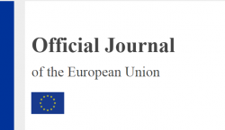 Official journal of European Union - cover