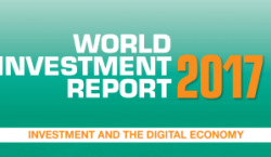 Couverture du World Investement Report 2017 de l'ONU