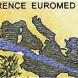 Timbre euromed postal